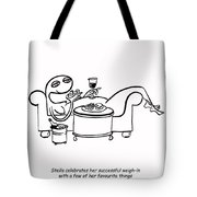 Weigh In Tote Bag