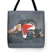 Weihnachtshund Tote Bag