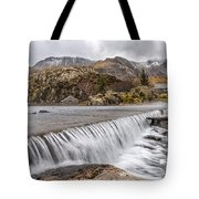 Weirs Rapids Snowdonia Tote Bag