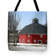 Welch Round Barn Tote Bag