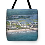 Welcome Aboard Surf City Topsail Island Tote Bag