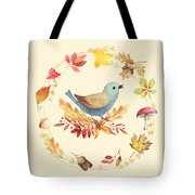 Welcome Back Autumn Tote Bag