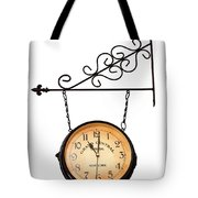 Welcome Clock.11 Am Tote Bag