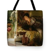 Welcome Footsteps Tote Bag by Sir Lawrence Alma-Tadema