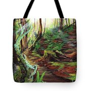 Welcome Paths Tote Bag