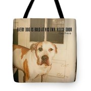 Welcome Quote Tote Bag