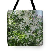 Welcome Spring 5 Tote Bag