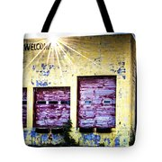Welcome Tote Bag by Tamyra Ayles