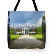 Welcome To Boone Hall Tote Bag