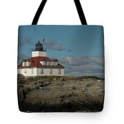 Welcome To Egg Rock Tote Bag