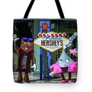 Welcome To Fabulous Hersheys Sign Tote Bag