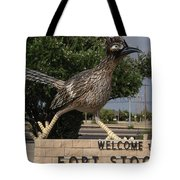 Welcome To Fort Stockton Tote Bag
