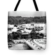 Welcome To Grand Turk Tote Bag