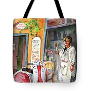 Welcome To Italy 04 Tote Bag by Miki De Goodaboom