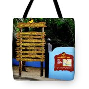 Welcome To Labadee Tote Bag