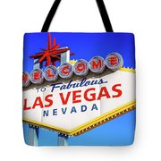Welcome To Las Vegas Sign Only Boulder Highway Day Tote Bag
