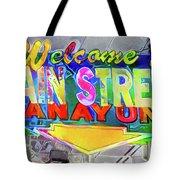 Welcome To Main Street Manayunk - Philadelphia Tote Bag