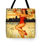 Welcome To Miami Tote Bag