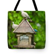 Welcome To My Bird Feeder Tote Bag