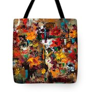 Welcome To My Flower Garden Tote Bag