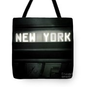 Welcome To New York Tote Bag