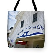 Welcome To Ocean City Maryland Tote Bag