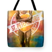Welcome To St. Petersburg Tote Bag