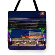Welcome To The Fest Tote Bag by CJ Schmit
