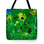 Welcome To The Garden Tote Bag