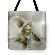 Welcome To The Second Floor-fractal Art Tote Bag