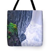 Welcome To The White Area Tote Bag
