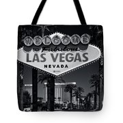 Welcome To Vegas Xi Tote Bag
