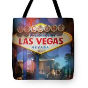 Welcome To Vegas Xii Tote Bag