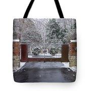 Welcome To Winter Tote Bag