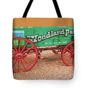 Woodland Park, Colorado, The City Above The Clouds, Elevation 8500 Feet, 2590 Meters Above Sea Level Tote Bag