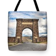 Welcome To Yellowstone Tote Bag