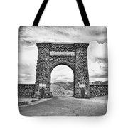 Welcome To Yellowstone Too Tote Bag