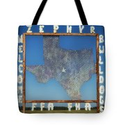 Welcome To Zephyr Texas Tote Bag