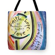 Welcome What Is Tote Bag