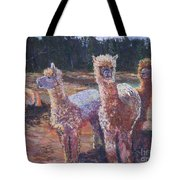 Welcoming Crowd Tote Bag