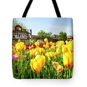 Welkom To Holland Tote Bag