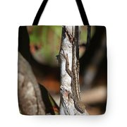 Well-camouflaged Lizard Tote Bag