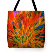 Well Of Colors Tote Bag