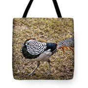 Well Plumed Bird Tote Bag