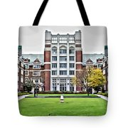 Wellesley College Tower Court Tote Bag