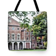 Wellesley College Walsh Alumni Hall Tote Bag