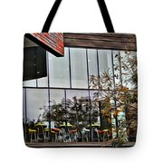Wellesley College Wang Campus Center Detail Tote Bag