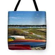Wellfleet Harbor Cape Cod Tote Bag