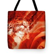 Wells Cathedral Gargoyles Color Negative C Tote Bag
