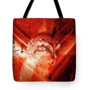 Wells Cathedral Gargoyles Color Negative D Tote Bag